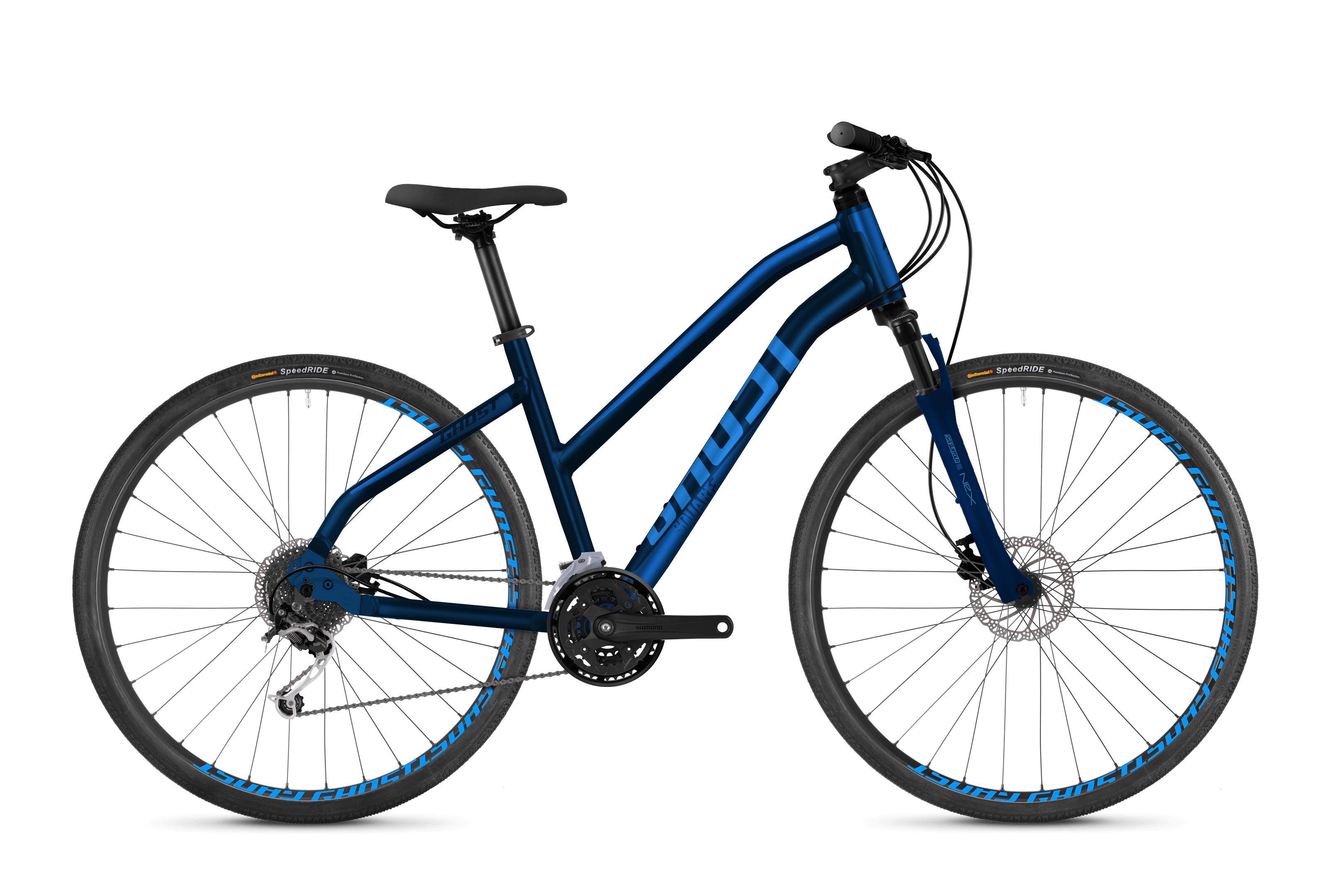 Bicykel Ghost Square Cross 2.8 blue / blue Ladies