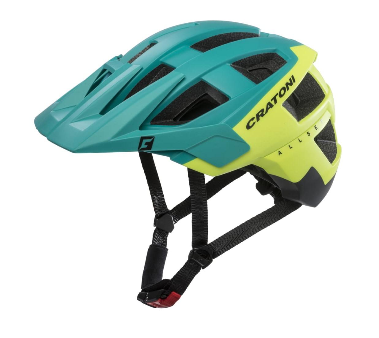 Prilba CRATONI AllSet green-yellow-black matt